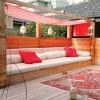 Çardaklı bahçe mobilya tasarımları