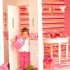 çizgili çocuk odası duvar kağıtları