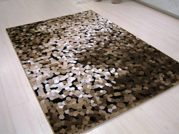 üç boyutlu taş halı modeli