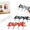 Aşkı anlatan ilginç duvar askı tasarımları