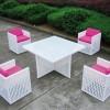 Beyaz şirin bahçe mobilya tasarımları