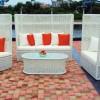 Desenli uzun bahçe mobilya tasarımları
