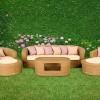 Doğal bahçe mobilya tasarımları