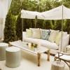 Güneş korumalı bahçe aydınlatma tasarımları
