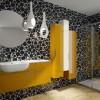 Renkli hareketli banyo tasarımları