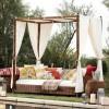 Tenteli bahçe mobilya tasarımları