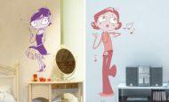 İlginç Desenlerle Bezenmiş Çocuk Odası Duvar Kağıtları