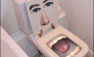 İlginç Banyo Stickerları