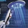 lazer ışıklı duş başlığı