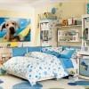 mavi genç odası