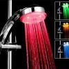 modern led ışıklı duş başlığı