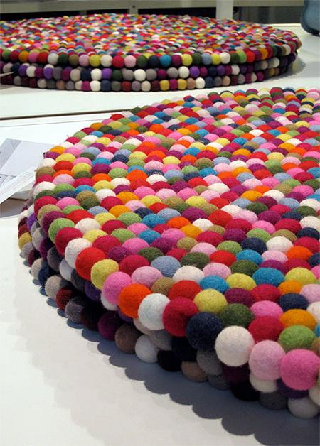 renkli 3 boyutlu halı