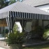 siyah beyaz çadır