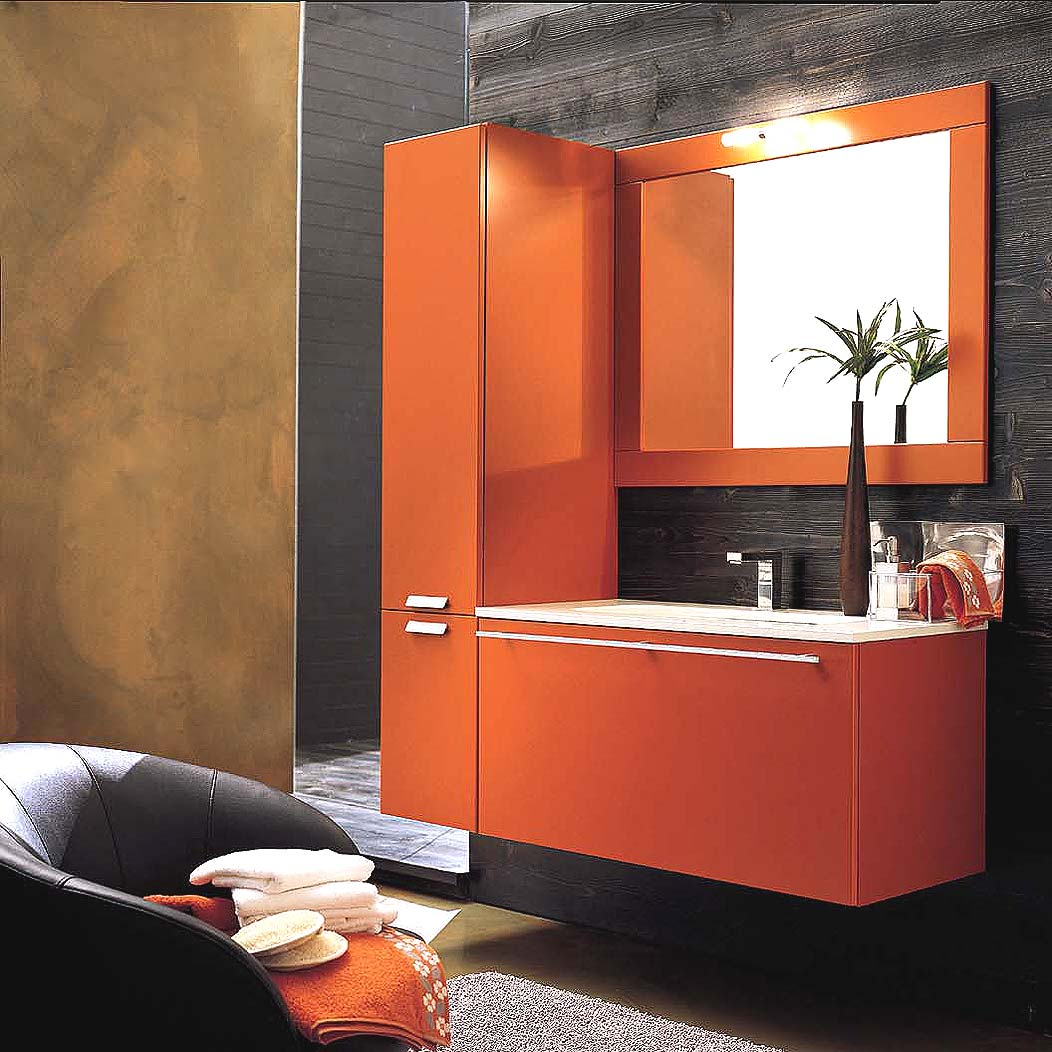 turuncu hilton banyo modelleri