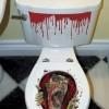 tuvalet banyo sticker