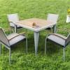 4 kişilik bahçe masası