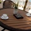Ahşap ferfoje tasarımlı tepe home bahçe mobilya örnekleri