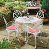 Beyaz ferfoje tepe home bahçe mobilya tasarımları