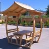 bahçe masası ve tabure