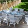 camlı bahçe masası