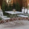 ferforje bahçe masaları