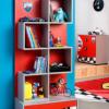 genç odası için kitaplık