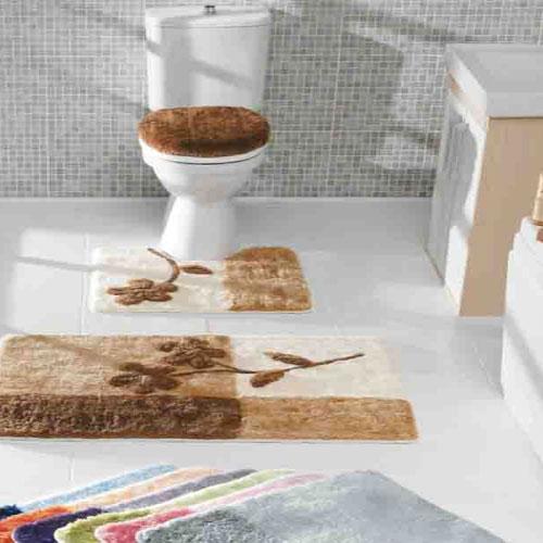 kahverengi banyo takımı