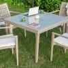 kare bahçe masası
