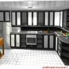 siyah kelebek mutfak