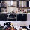 siyah kelebek mutfak modelleri