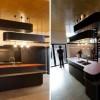 siyah tepe mutfak
