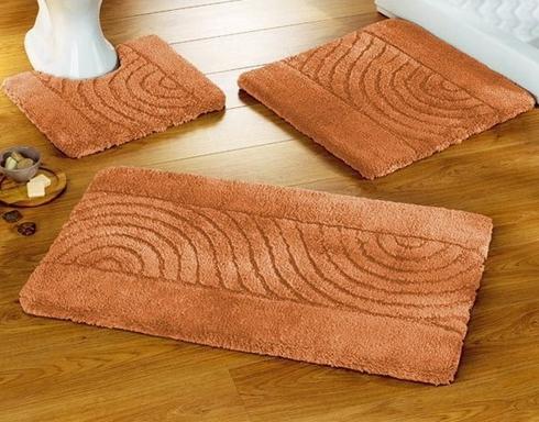 turuncu banyo paspasları