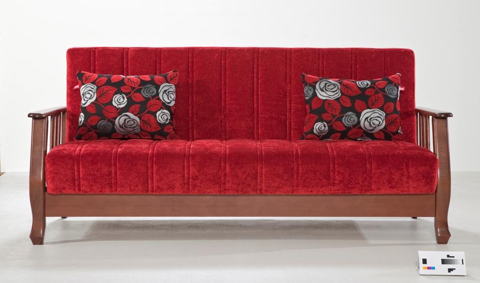 idaş kırmızı kanepe