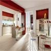 kırmızı beyaz mutfaklar
