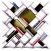 modern kitaplık modeli