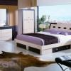 ışıklı yatak odası modelleri