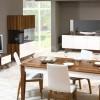 Beyaz kahve lake yemek odası örnekleri