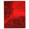 Dekoratif kırmızı halı örnekleri