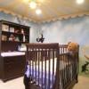 Kahverengi masko bebek odası tasarımları