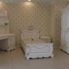 Klasik beyaz masko genç odası tasarımları