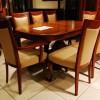 Klasik tasarımlı masko masa sandalye örnekleri