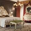 Lüks klasik lake mobilya yatak odası tasarımları