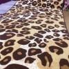 Leopar desenli kesme halı tasarımları