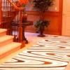 Modern desenli kesme halı örnekleri