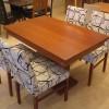 Mutfak için desenli sandalye masko masa sandalye örnekleri