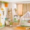Safari desenli modoko bebek odası tasarımları