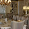 Saray dekorlu şık masko yemek odası tasarımları