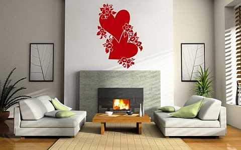 Sevgililer-için-Duvar-Sticker-Modelleri