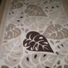 Simli yaprak desenli yolluk tasarımları