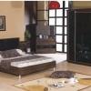 Siyah cam desenli modoko yatak odası tasarımları